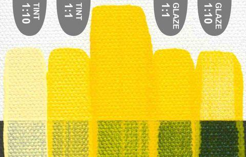 Golden Fluid (473ml) Hansa Yellow Opaque