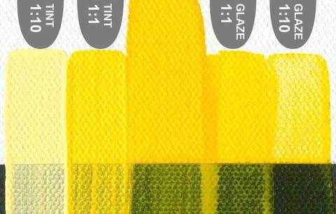 Golden Fluid (473ml) Hansa Yellow Med.