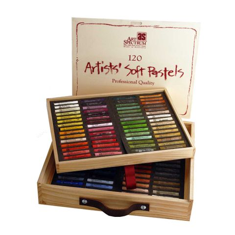 Art Spectrum Soft Pastels - Wooden Box