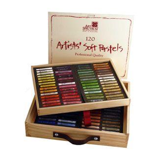 Art Spectrum Soft Pastels - Wooden Box