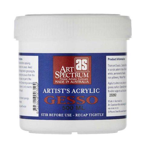 Art Spectrum Artist Quality Gesso 500ml
