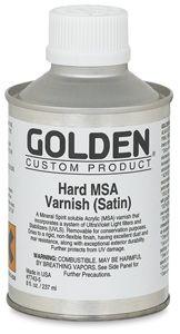 Hard MSA Varnish (Satin)