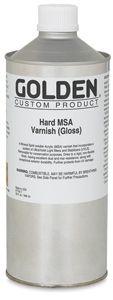 Golden Hard MSA Varnish