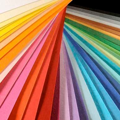 Colorline - 10 Sheets 10 Rose Petal