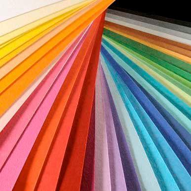 Colorline - 10 Sheets 14  Tomato