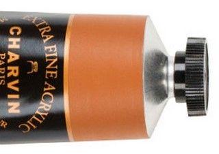 Charvin 60ml Acrylic Raw Sienna