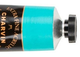 Charvin 150ml Acrylic Cobalt Turquoise Light