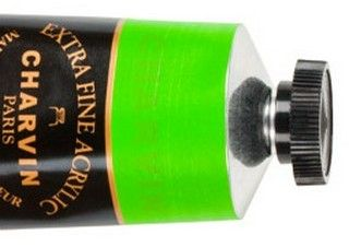 Charvin 150ml Acrylic Vivid Bright Green