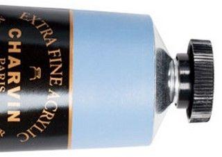 Charvin 150ml Acrylic Ash Blue