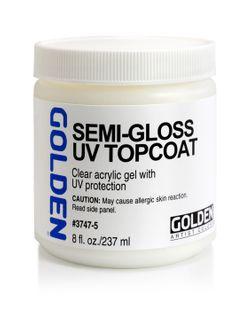 Gel Topcoat w/UVLS(Semi-Gloss)