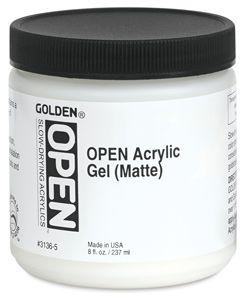 Golden OPEN Acrylic Gel (Gloss)