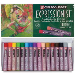 CrayPas Expressionist Oil Pastel Set 16
