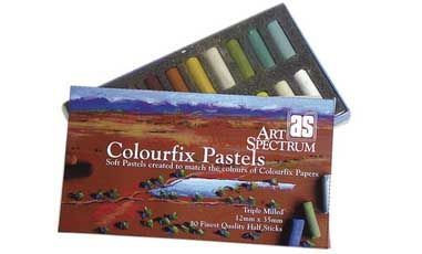 AS COLOURFIX™ PASTELS RAW SIENNA