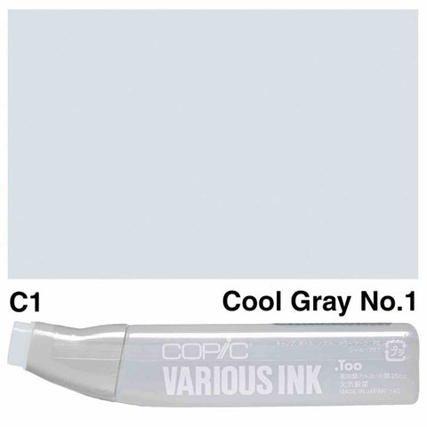 Copic Ink C1-Cool Gray No1