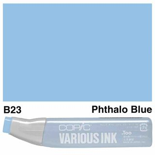 Copic Ink B23-Pthalo Blue