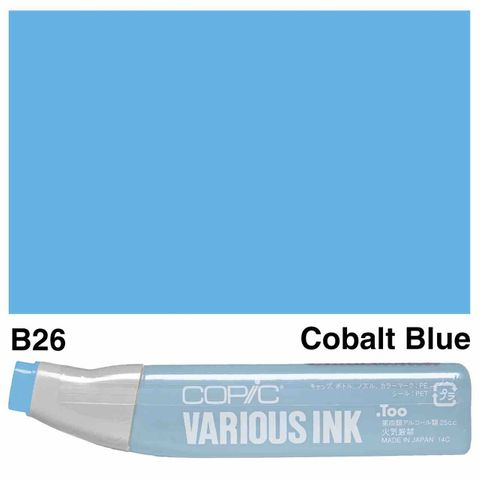 Copic Ink B26-Cobalt Blue