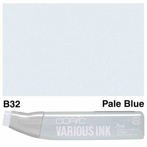 Copic Ink B32-Pale Blue