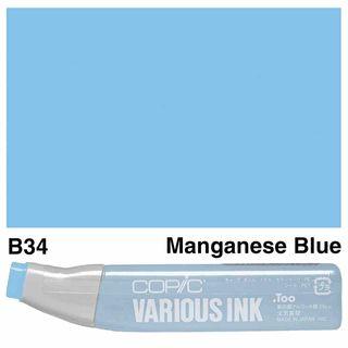 Copic Ink B34-Manganese Blue