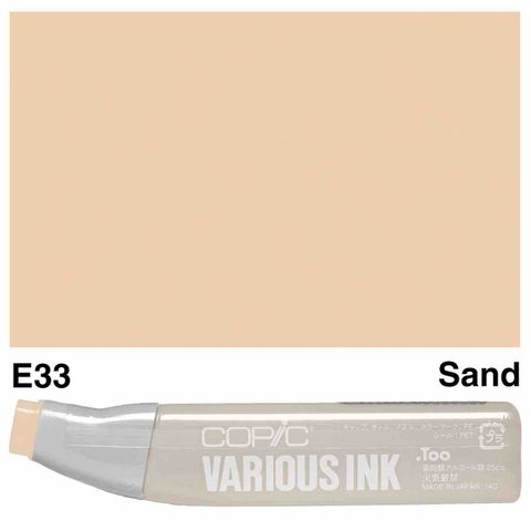 Copic Ink E33-Sand