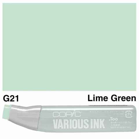 Copic Ink G21-Lime Green