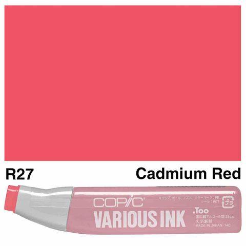 Copic Ink R27-Cadmium Red