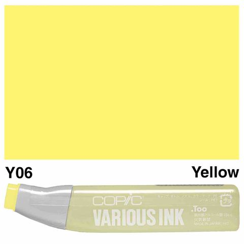 Copic Ink Y06-Yellow