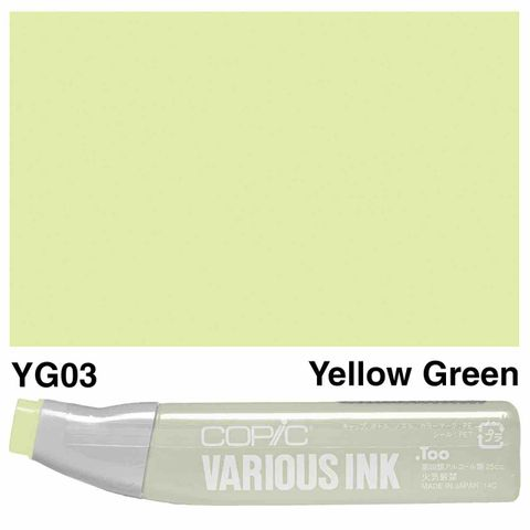Copic Ink YG03-Yellow Green