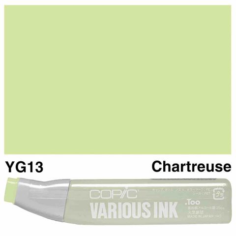 Copic Ink YG13-Chartreuse