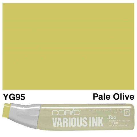 Copic Ink YG95-Pale Olive