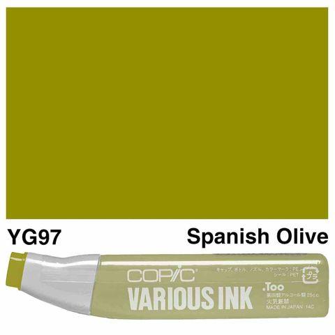 Copic Ink YG97-Spanish Olive