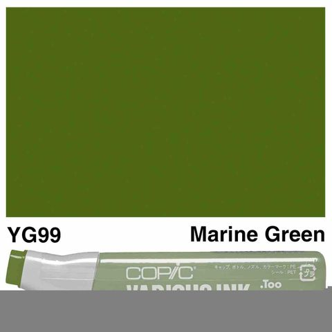 Copic Ink YG99-Marine Green