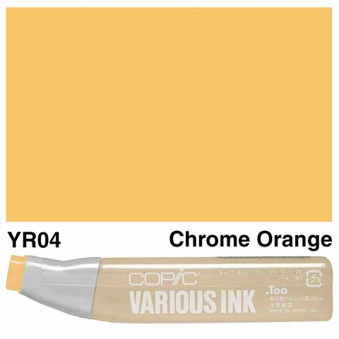 Copic Ink YR04-Chrome Orange