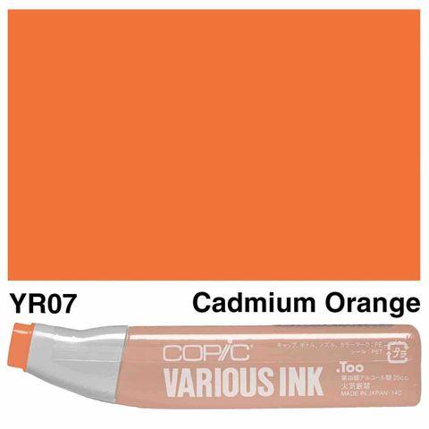Copic Ink YR07-Cadmium Orange