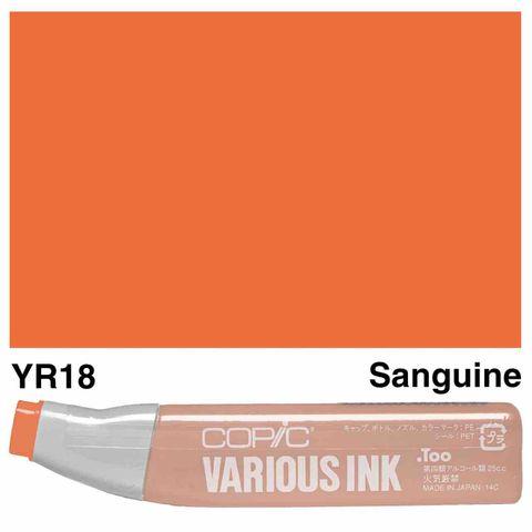 Copic Ink YR18-Sanguine
