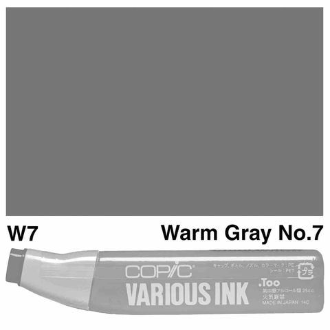 Copic Ink W7-Warm Gray No7