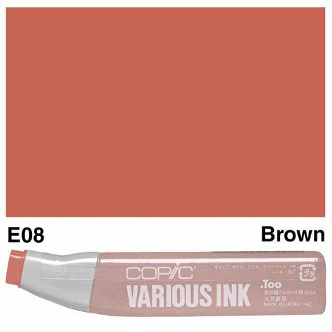 Copic Ink E08-Brown