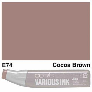 Copic Ink E74-Cocoa Brown