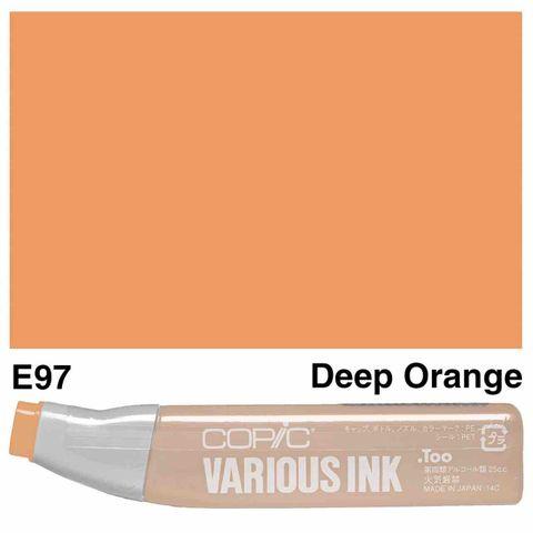 Copic Ink E97-Deep Orange
