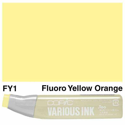 Copic Ink FY1-Fluorescent Yellow Orange