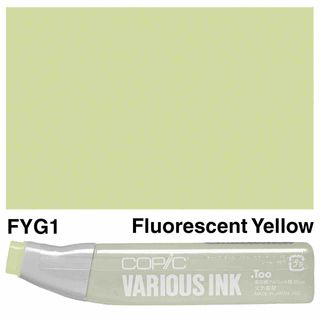 Copic Ink FYG1-Fluorescent Yellow