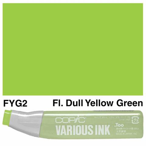 Copic Ink FYG2-Fluoro Dull Yellow Green