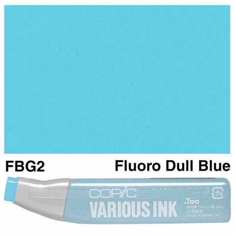 Copic Ink FBG2-Fluoro Dull Blue Green
