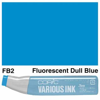 Copic Ink FB2-Fluorescent Dull Blue