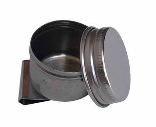 Single Colour Mixing Pot Stainless Steel