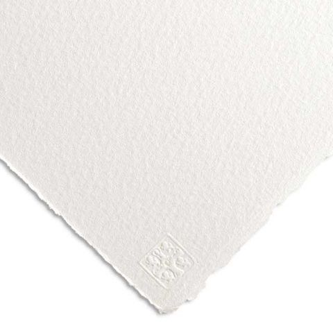 24 - Saunders Waterford - HIGH WHITE - ROUGH (10 Sheets)