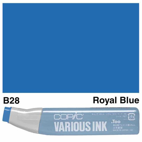 Copic Ink B28-Royal Blue
