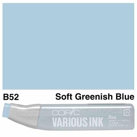 Copic Ink B52-Soft Greenish Blue