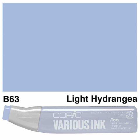Copic Ink B63-Light Hydrangea