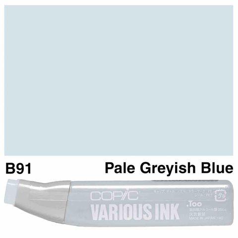 Copic Ink B91-Pale Grayish Blue