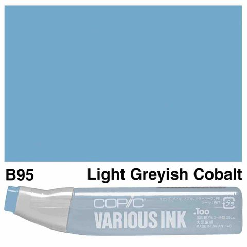 Copic Ink B95-Light Greyish Cobalt